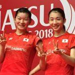 アジア大会でバドミントン女子団体金メダル!髙橋・松友ペアは優勝を決める勝利